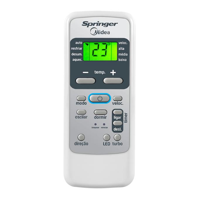Controle-Ar-Condicionado-Springer-Midea-Poloar