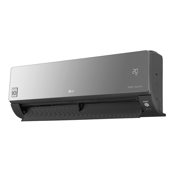 evaporadora-artcool-dual-inverter-perfil-aleta-aberta-poloar
