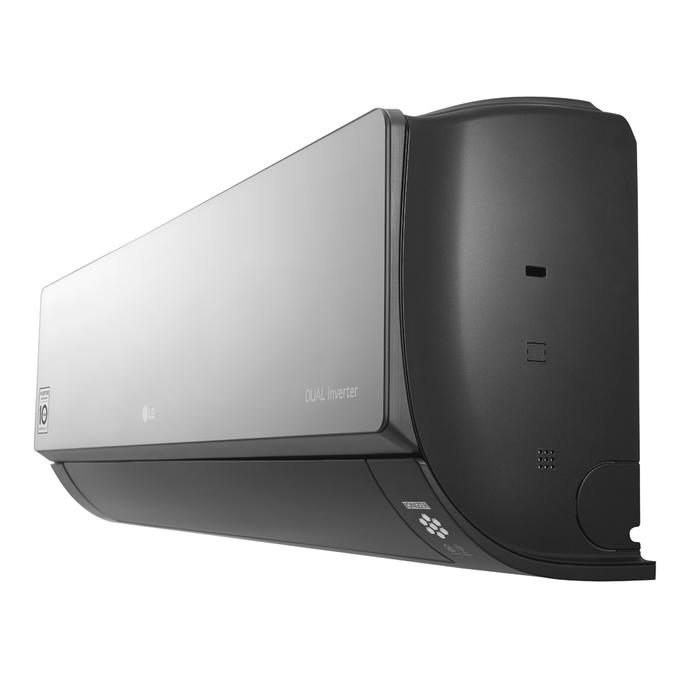 evaporadora-artcool-dual-inverter-perfil-profundidade-poloar