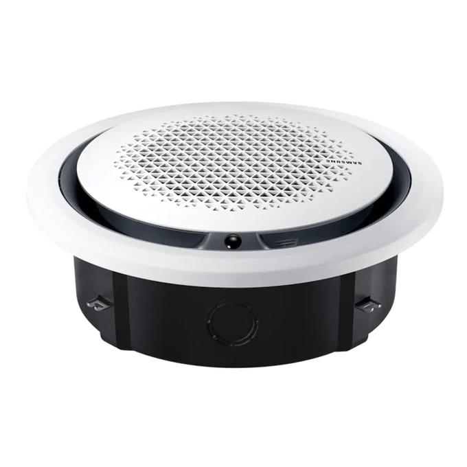 evaporadora-cassete-samsung-com-painel-circular-poloar