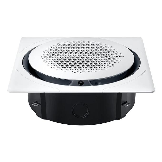evaporadora-cassete-samsung-com-painel-quadrado-poloar