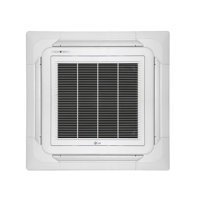 evaporadora-split-cassete-lg-inverter-grelha-poloar