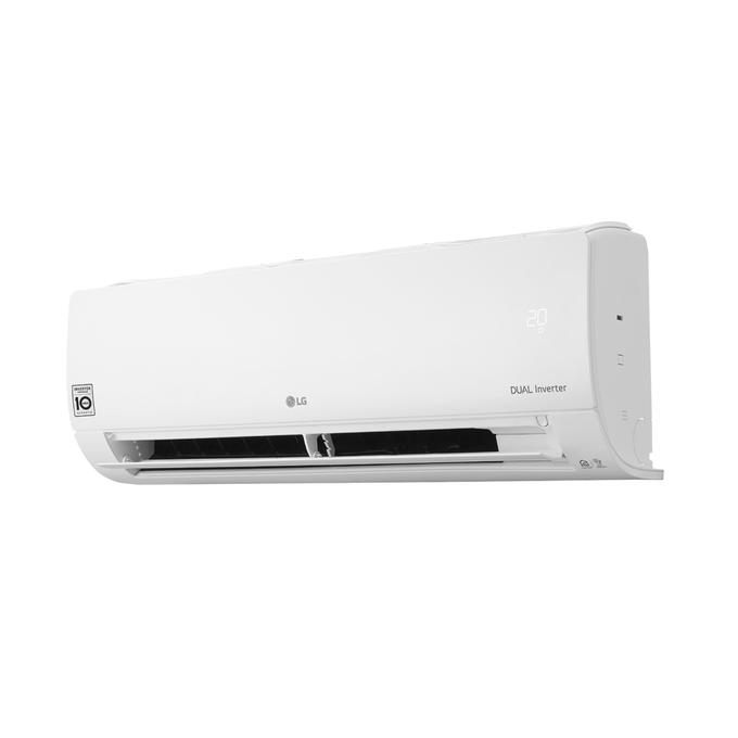 evaporadora-lg-dual-voice-lado-aleta-meia-aberta12000-poloar