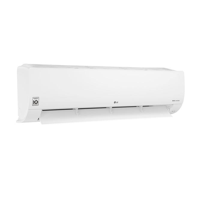 evaporadora-lg-dual-inverter-voice-36k-lateral-esquerda-aberta-poloar