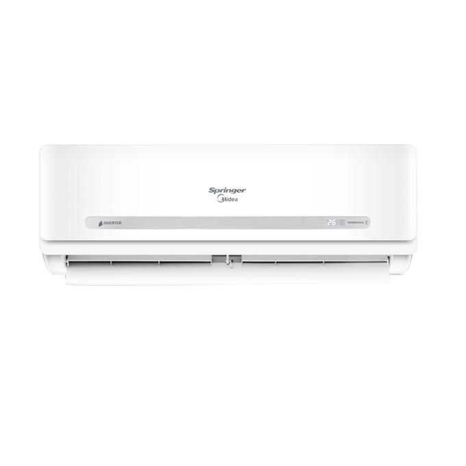 evaporadora-frotal-hi-wall-springer-midea-inverter-33000-poloar