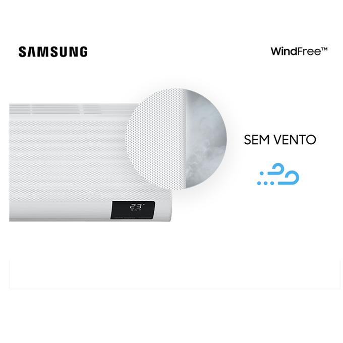 evaporadora-sem-vento-9k-hi-wall-samsung-wind-free-new-poloar